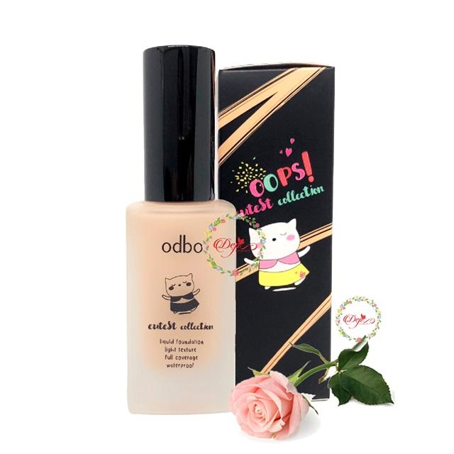 KEM NỀN ODBO CUTEST COLLECTION LIQUID FOUNDATION OD434