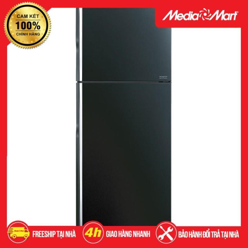Tủ lạnh Hitachi Inverter 366L FG480PGV8 (GBK) - Miễn phí vận chuyển & lắp đặt toàn miền Bắc - Bảo hành chính hãng - Mediamart