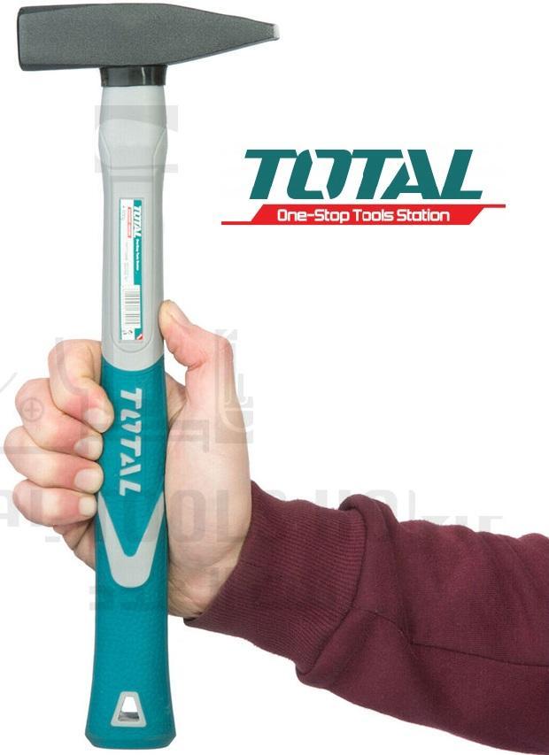Búa thép cán nhựa đóng đinh cơ khí 1000g 370mm Total THT7110006