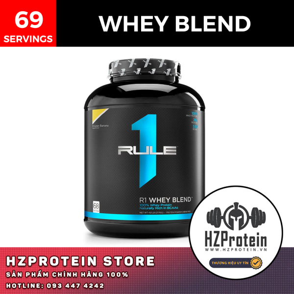 RULE1 PROTEIN BLEND WHEY - SỮA PROTEIN CHẤT LƯỢNG CAO - 5 LBS