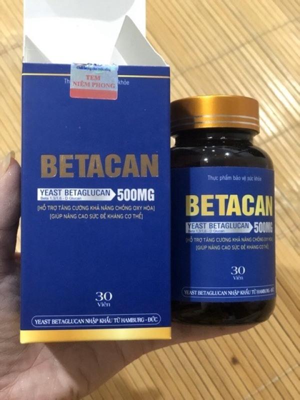BETACAN - Tăng Cường Miễn Dịch, Tiêu Diệt HPV Virut Sùi Mào Gà