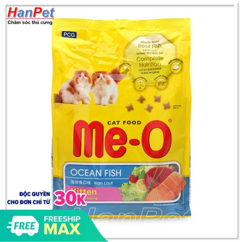 Thức ăn dạng hạt  mèo con - ME-O kitten vị cá biển (HoaMy A 204c)  (gói 1,1kg)