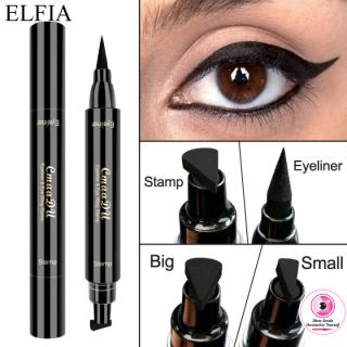 Bút Kẻ Mắt Hai Đầu ELFIA CmaaDu, Bút Chì Trang Điểm Dạng Lỏng, Tem Trang Điểm Chống Nước, Bút Chì Kẻ Mắt Đẹp thumbnail