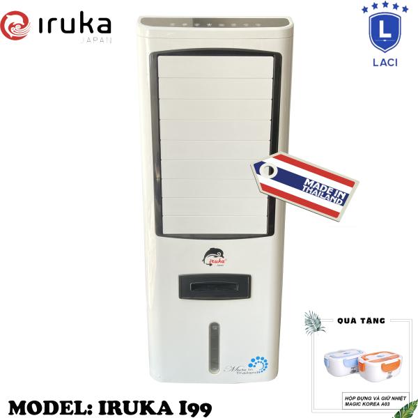 Bảng giá Quạt hơi nước làm lạnh không khí Iruka I99 Made In Thái Lan | Công suất 200W | Màn hình cảm ứng có remote điều khiển | BH 12 Tháng Chính Hãng | Tặng Hộp Giữ Nhiệt Magic A03