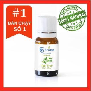 TINH DẦU TRÀM TRÀ (Tea Tree) Asaroma (10ml) - 100% thiên nhiên - làm đẹp, kháng viêm , giảm stress thumbnail