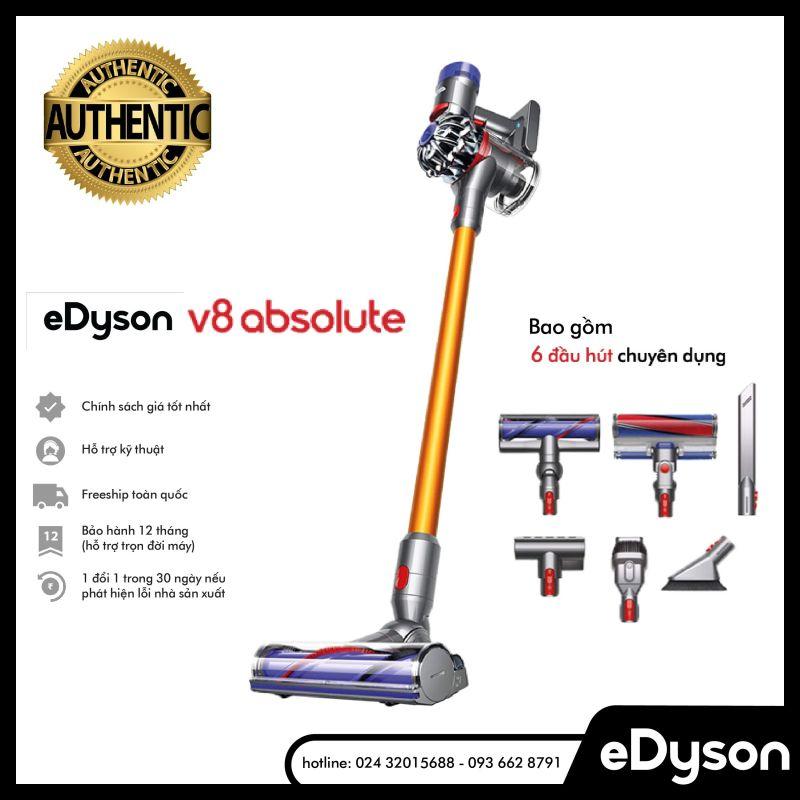 Máy hút bụi cầm tay Dyson V8 Absolute lọc HEPA 100% Authentic Bảo hành 12 tháng