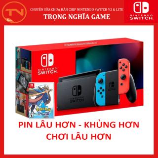 Máy Nintendo Switch + Đĩa game Pokemon Sword +Tặng Dán Cường Lực - 24 tháng bảo hành thumbnail