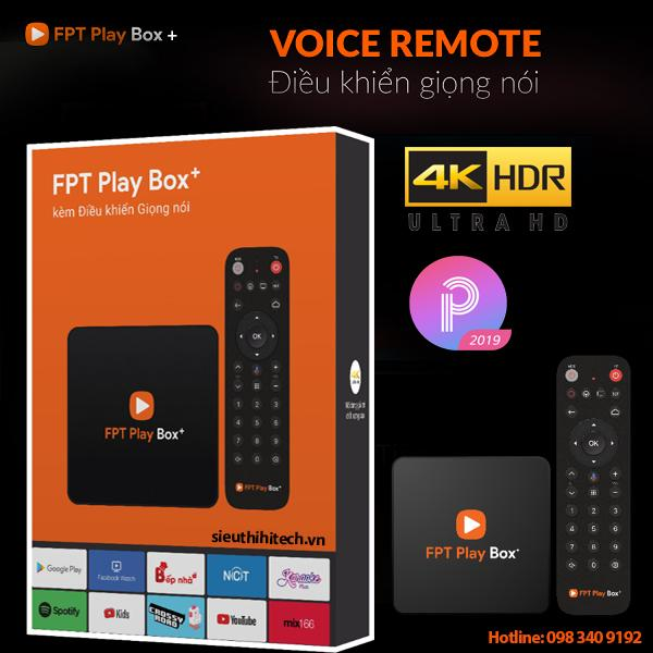 Giá Fpt Play Box 2019 - S400 Voice remote