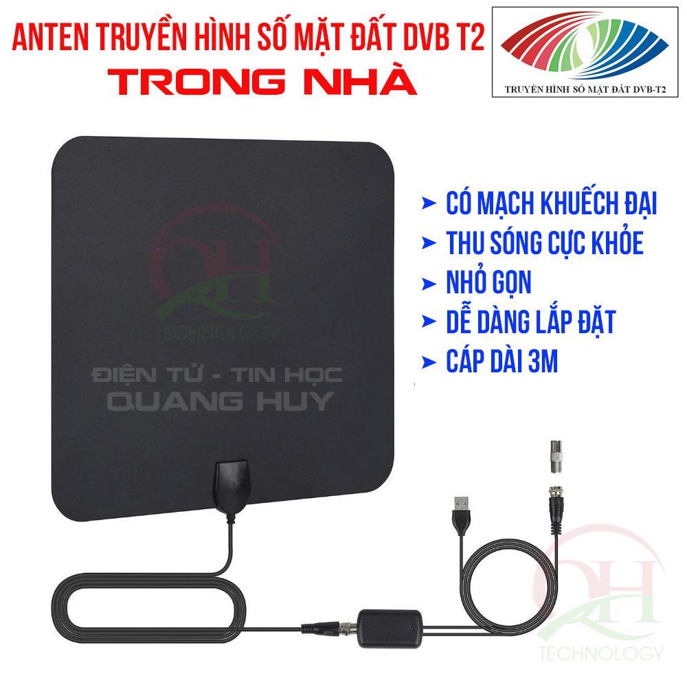 Anten DVB T2 Trong Nhà Có Mạch Khuếch đại Thu Sóng Cực Khỏe Siêu Ưu Đãi tại Lazada