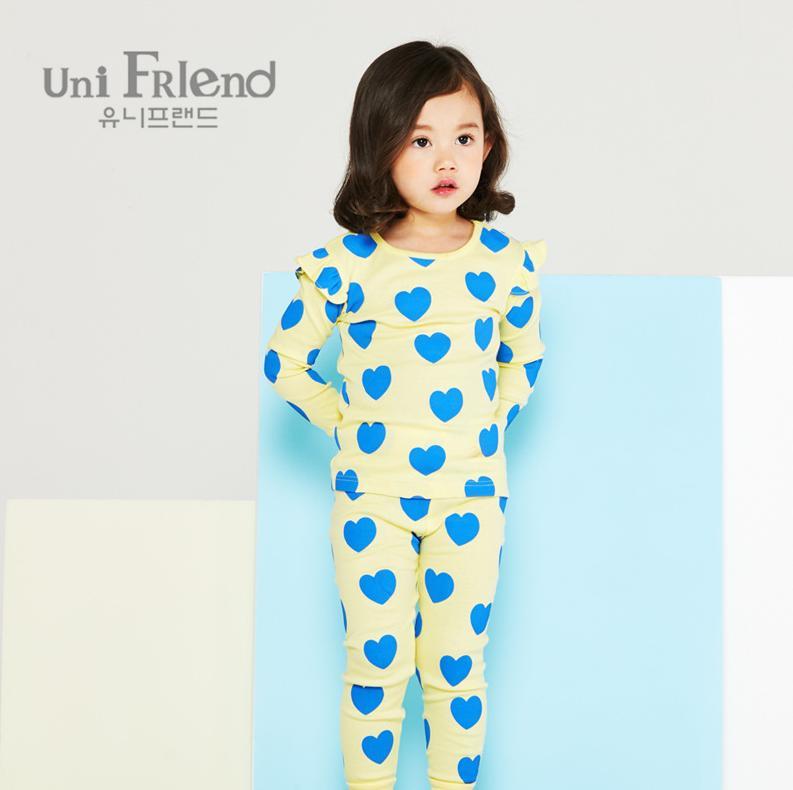Giá bán Bộ đồ dài bé gái Unifriend uni0555