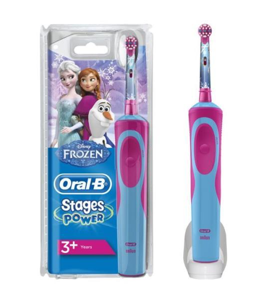Máy đánh răng điện Oral-B cho trẻ em. Máy chải răng trẻ em, máy Oral-B TẶNG 4 ĐẦU CHẢI THAY THẾ CỦA ĐỨC. Aone Mall