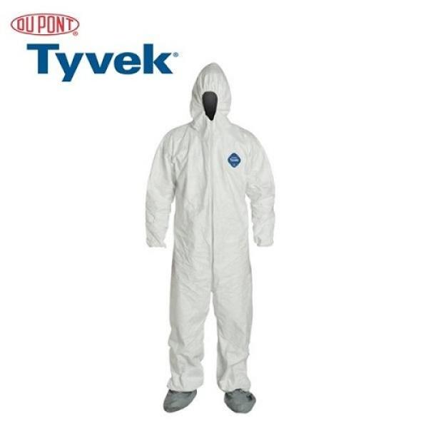Tyvek DUPONT 400 - Bộ áo liền quần có nón bảo vệ bảo hộ lao động, chống vi khuẩn, virus, chống tĩnh Điện, chống hóa chất, chống bụi, phun sơn, phun trừ sâu có các size M,L