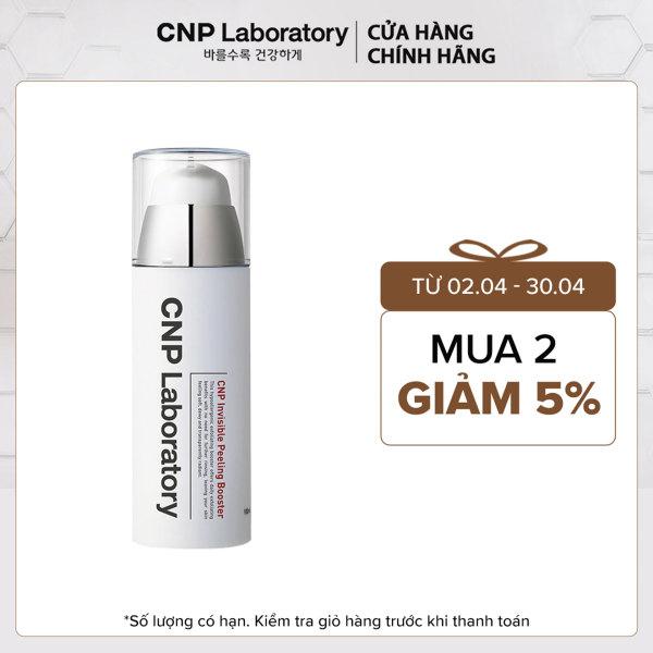 Gel tẩy tế bào chết thế hệ mới với PHA cải thiện da trong 7 ngày CNP Laboratory Invisible Peeling Booster 100ml