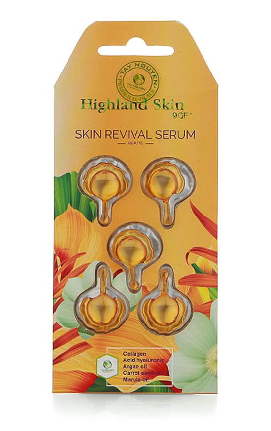 Viên thoa dưỡng da Serum Highland skin