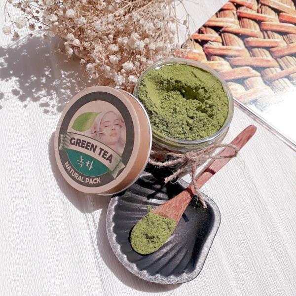 (Tặng xà phòng rửa mặt) Mặt nạ bột trà xanh Ecolife tốt nhất