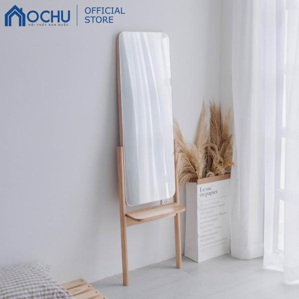 Gương Đứng Soi Toàn Thân Khung Gỗ OCHU - Girly Mirror - Natural