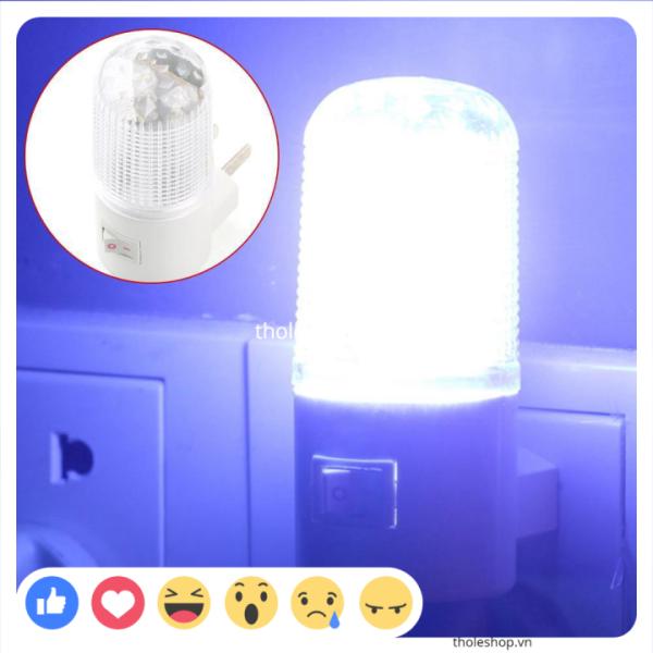 [SALE] Đèn ngủ bóng tròn - Đèn ngủ 3W tròn tiết kiệm điện, ánh sáng dịu nhẹ và an toàn khi sử dụng
