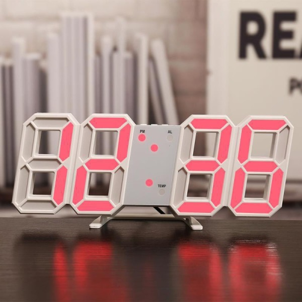 [ SALE SỐC ] ĐỒNG HỒ LED TREO TƯỜNG - ĐỒNG HỒ ĐỂ BÀN 3D PHONG CÁCH HÀN QUỐC. ĐỒNG HỔ LED GIÁ RẺ.