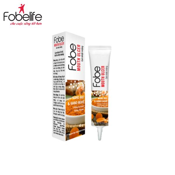 Fobe Mouth Ulcer – Gel nhiệt miệng từ thiên nhiên