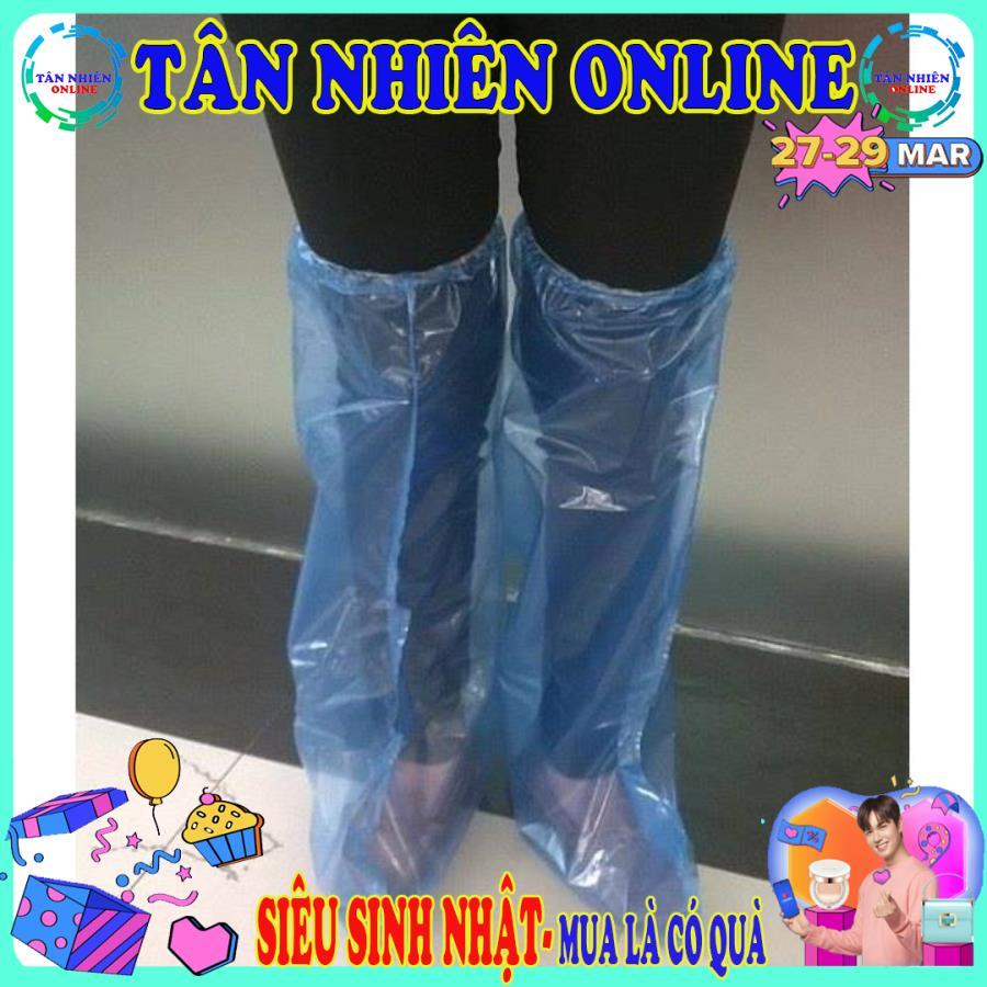 Bọc giày đi mưa silicon loại mỏng chống thấm