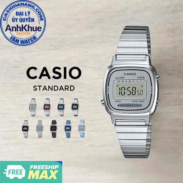 Đồng hồ nữ Casio Standard chính hãng Anh Khuê LA670 Series