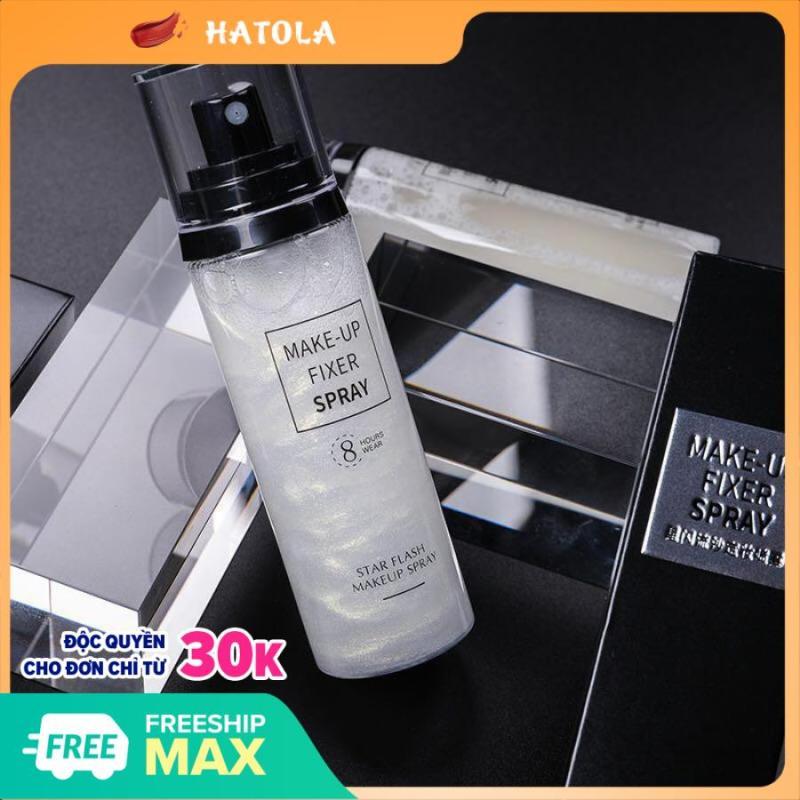 HATOLA - Xịt khoáng trang điểm Make-Up Fixer Spray, Xịt khoáng khóa nền trang điểm dưỡng ẩm bắt sáng 100ml - XK01 cao cấp