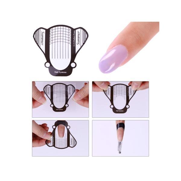 Set 500 miếng hỗ trợ nối móng tay, phụ kiện nail chuyên dụng cho nail salon tốt nhất