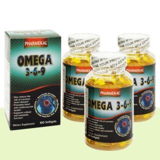 Combo 3 Hộp - Viên Uống Dầu Cá Omega 369 Pharmekal - 100 Viên thumbnail