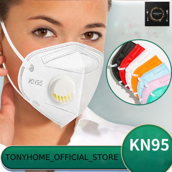 Khẩu trang KN95 có van thở chống bụi mịn dành cho người lớn nhập khẩu