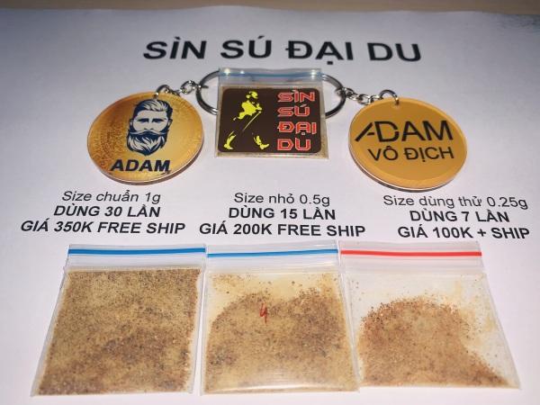 Túi test cao thảo mộc sìn sú (3 lần)