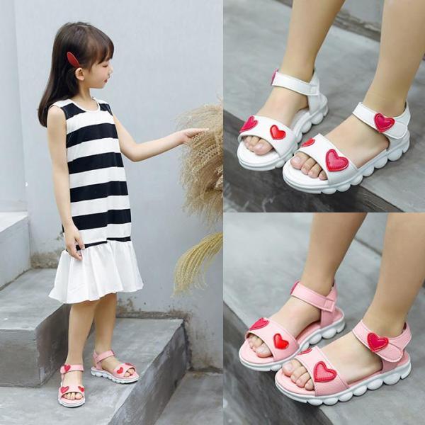 Giá bán Dép sandal bé gái hình trái tim