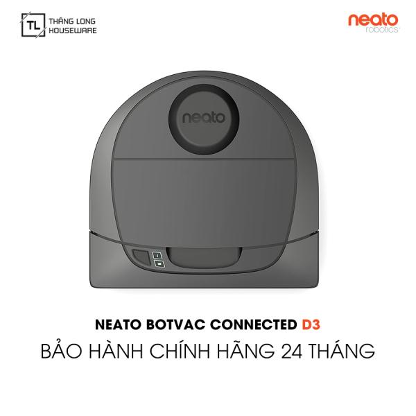 Robot hút bụi Neato Botvac D3 Connected - Hàng chính hãng Bảo hành 24 tháng 1 đổi 1