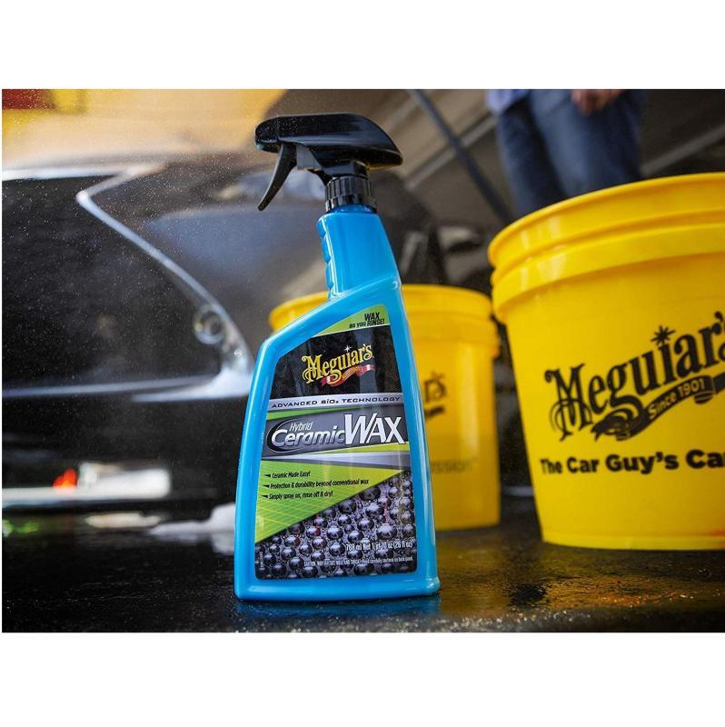 Meguiars Dung dịch wax bóng sơn xe công nghệ Ceramic - Hybrid Ceramic Wax - G190526 - 768ml