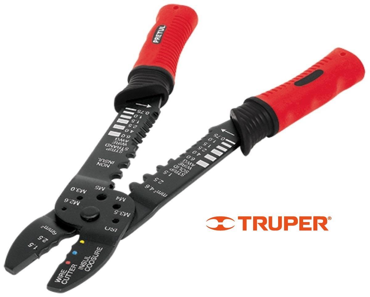 Kìm Kềm Bấm Cốt Tuốt Dây điện 9inch 228mm Truper Pretul PE-CA-9P 22710 Giá Tiết Kiệm Nhất Thị Trường