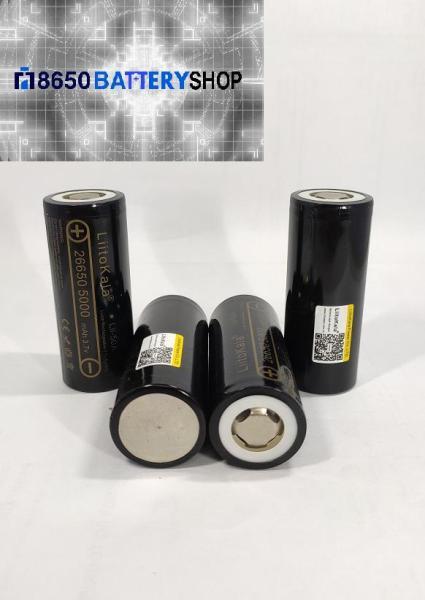 Bảng giá Pin cell Littokala 26650 Mới dung lượng 5000mAh xả 50A Phong Vũ