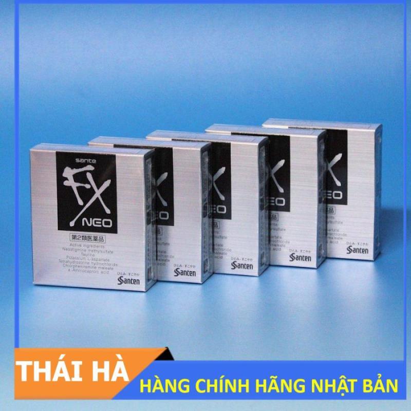 BỘ 5 CHAI NUOC NHỎ MẮT FX NEO 12 ML NHẬT BẢN