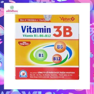 Viên uống Vitamin 3B Hộp 100 viên, giúp bồi bổ cơ thể, nâng cao sức đề kháng thumbnail