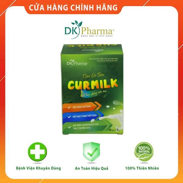 Cốm lợi sữa thảo dược Curmilk, kích sữa, chống tắc sữa, đã nhiều còn chất - Hộp 10 gói