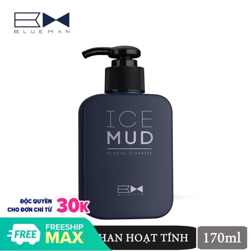 Sữa Rửa Mặt Ice Mud BLUEMAN Than Hoạt Tính Tẩy Sạch Da 170ml