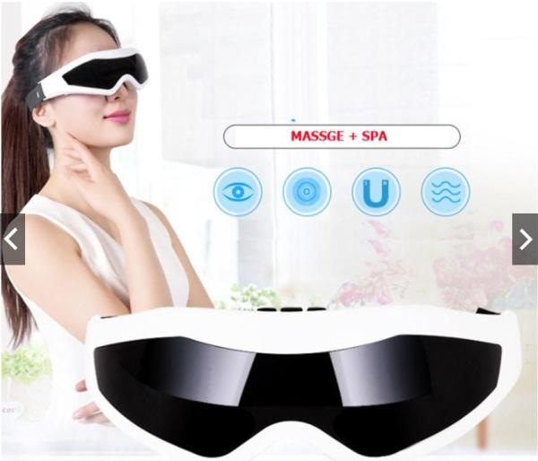 Máy kính massage mắt JY-818, chăm sóc thư giãn mắt