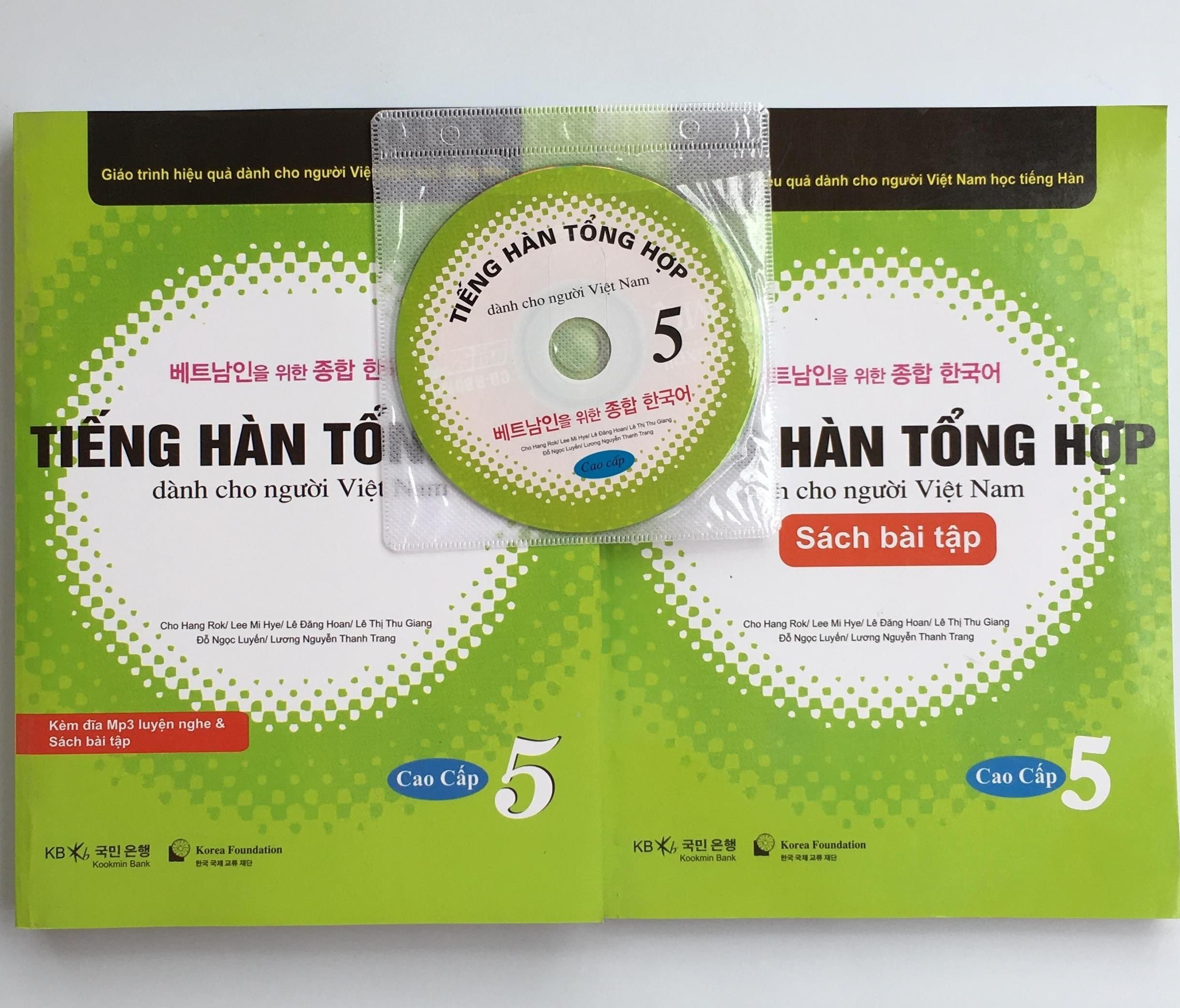 Coupon Khuyến Mãi Giáo Trình Và Bài Tập Tiếng Hàn Tổng Hợp Dành Cho Người Việt Nam Tập  5