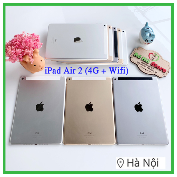iPad Air 2 - 64G / 32G / 16Gb Bản ( 4G + Wifi) Quốc Tế Chính Hãng - Zin Đẹp - Có Vân Tay / Ram 2Gb / CPU A8x3