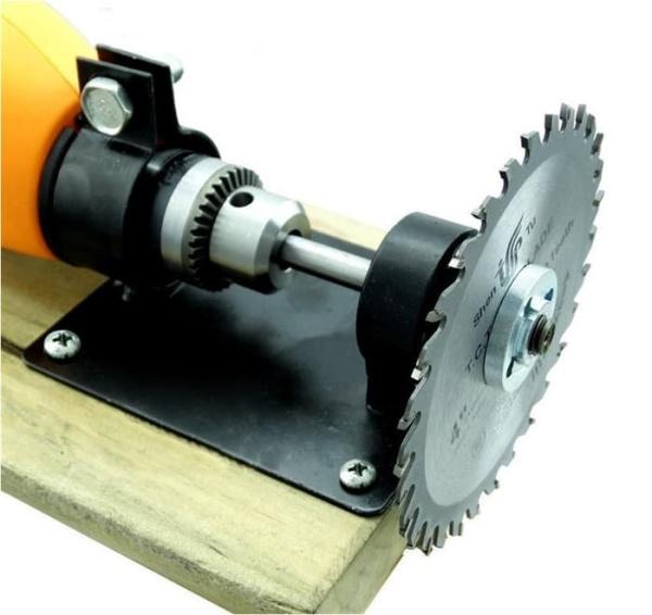 Bộ biến máy khoan thành máy cắt + lưỡi cắt gỗ