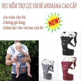 Đai an toàn đi xe máy cho bé, Địu baby, Địu mềm trợ lực Hàn Quốc Aimama cao cấp,hỗ trợ bé ngồi đúng tư thế ,không ảnh hưởng đến cấu trúc xương của trẻ,dùng cho bé từ sơ sinh đến 36 tháng tuổi,BH 1 đổi 1,SALE 50% thumbnail
