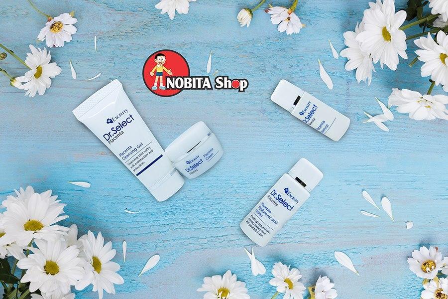 Bộ dưỡng da mini Dr. Select set gồm 4 sản phẩm giúp làm trắng da, se khít lỗ chân lông cấp tốc, trị thâm và trị nám hiệu quả. cao cấp