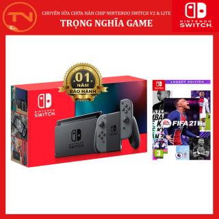 Máy Nintendo Switch V2 + đĩa game FIFA 21 - Bảo hành 12 tháng thumbnail