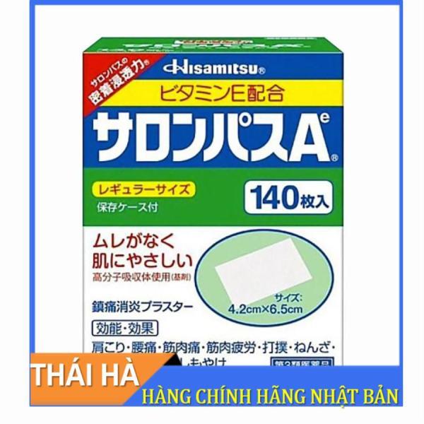 Miếng Dán Salonpas Hisamitsu Nhật Bản 140 Miếng