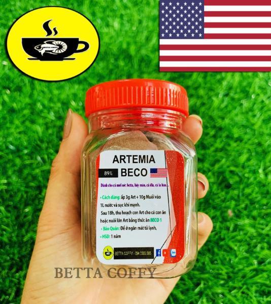 Artemia Mỹ Loại 1 - Thức ăn cho cá con mới nở | Artemia BECO 40g