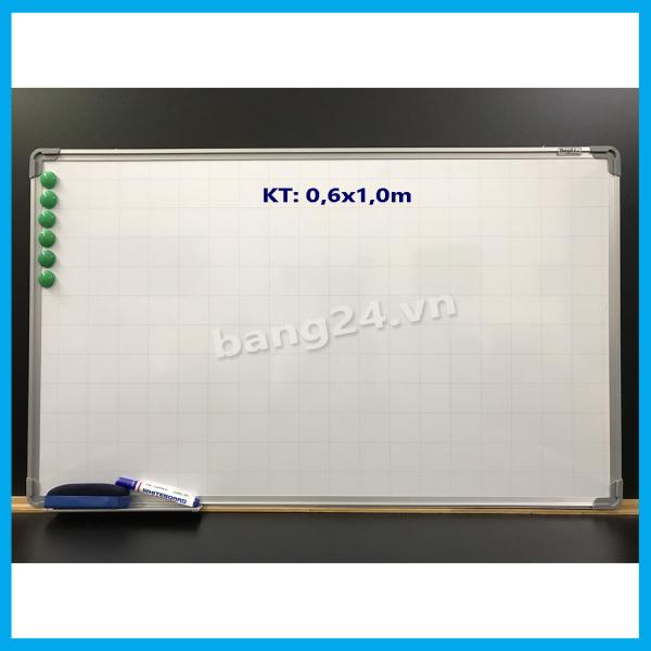 Mua Bảng Từ Trắng - Bảng Viết Bút Lông - White Board, KT: 0,6x1,0m (Tặng kèm1 khay để bút,1 bút dạ, 1 xóa bảng và 6 viên nam châm)