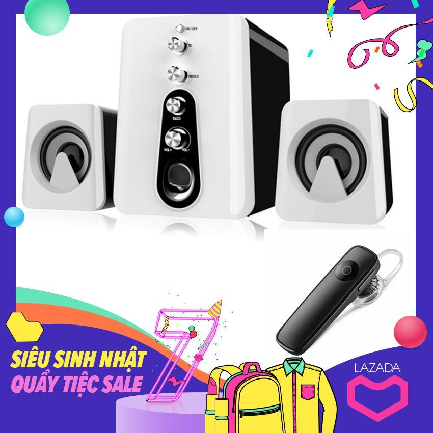 Bảng giá Bộ Loa Máy Tính 2.1 Âm Thanh 3D Shinco HC-807 + Tặng Tai Nghe Bluetooth Cao Cấp Phong Vũ